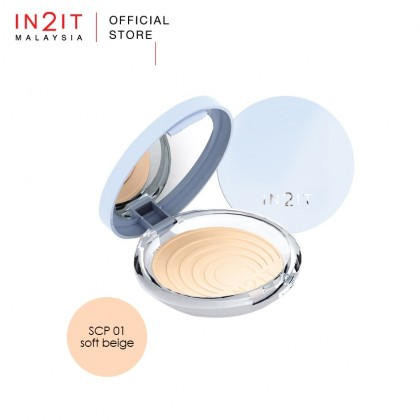 IN2IT UV Shine Control Sheer Face Powder With Oil Control SPF15PA++ (SCP)
