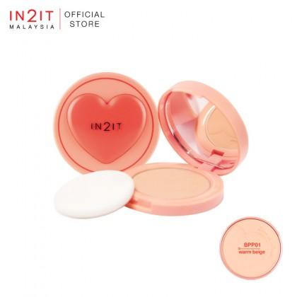 IN2IT Blur & Matte Pressed Powder SPF20 PA+++ (BPP)
