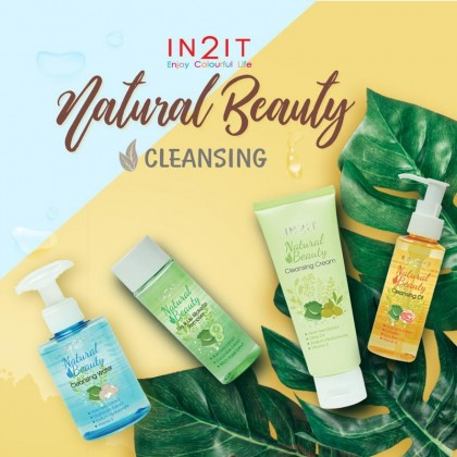 [Short Expiry] IN2IT Natural Beauty Cleansing Oil 100ml (NCO)