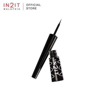 IN2IT Linestay Flexi-Tip Eyeliner (LVM01 Very Black Matte)