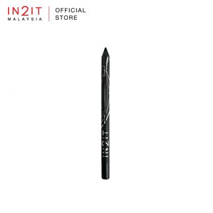 IN2IT Gel Stay Waterproof Gel Liner Pencil (GS01 Very Black)